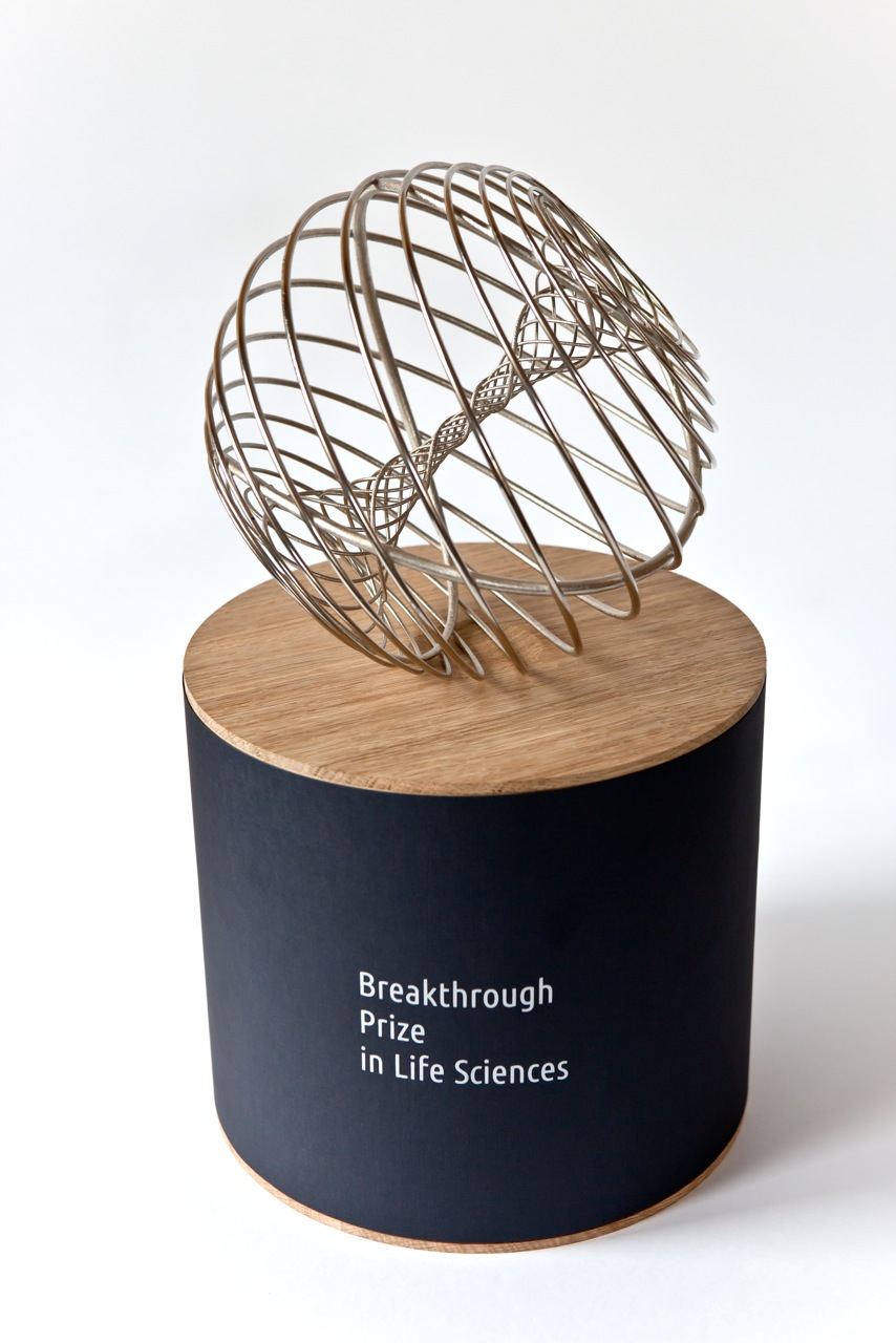 Breakthrough prize trophy for How to design a trophy